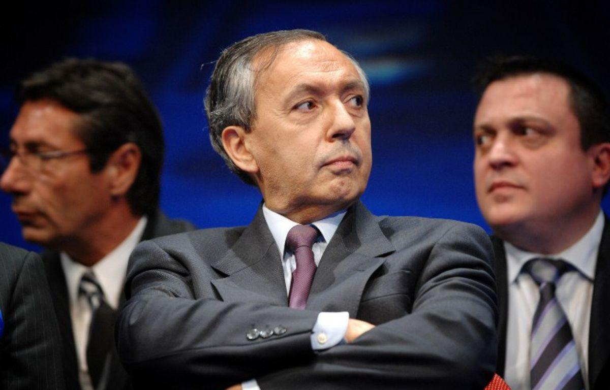 Le président du Mouvement national républicain, Bruno Mégret – MARTIN BUREAU / AFP