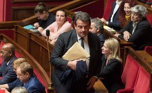 Thierry Solère à l'Assemblée nationale