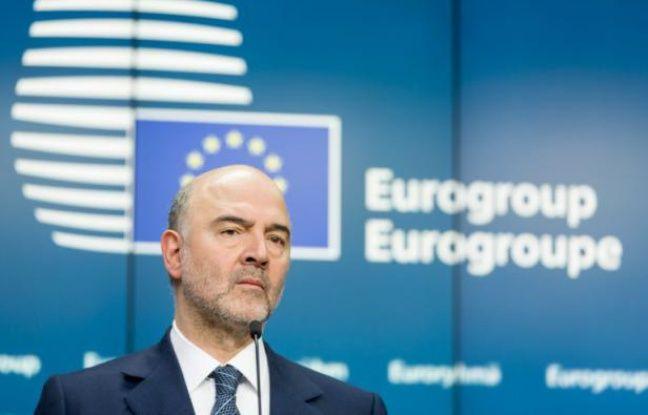 Le commissaire européen Pierre Moscovici le 11 février 2016 à Bruxelles