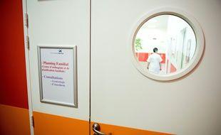 Le centre de planification familiale du centre Hospitalier de Saint-Denis, le 16/01/2015.