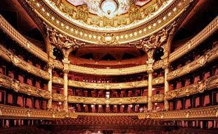 L'intérieur de l'Opéra Garnier