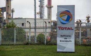 Une raffinerie Total (illustration).