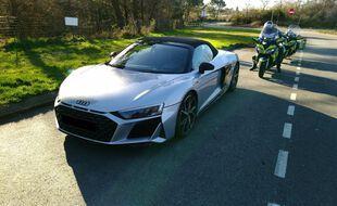 Le conducteur a été intercepté vendredi après-midi au niveau de la commune de Nivillac dans le Morbihan.