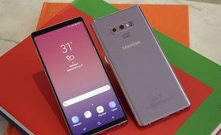 Samsung a dévoilé son Galaxy Note 9 le 9 août 2018 à New York.