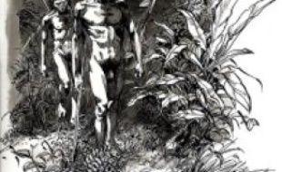 Illustration de La Préhistoire, d'Antoine Balzeau et Sophie Archambault de Beaune.