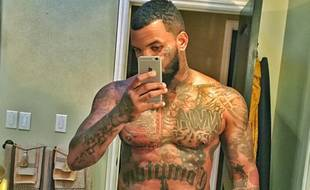 Détail d'une photo postée par The Game sur son compte Instagram en novembre 2015.