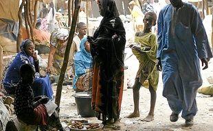 La France a réduit son aide (ci-dessus : un marché au Mali).