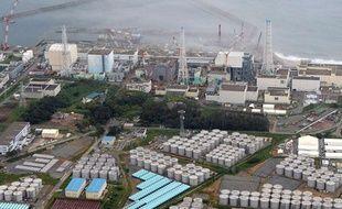Le 20 août 2013, la centrale nucléaire de Fukushima.