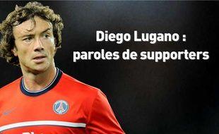 Le défenseur parisien Diego Lugano.