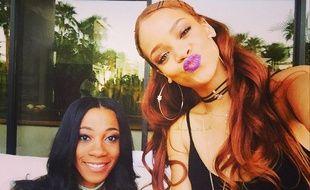 Rihanna et sa nouvelle chevelure rousse