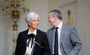 """La ministre de l'Economie Christine Lagarde a affirmé lundi sur France Info que le nouveau gouvernement Fillon était """"totalement révolutionnaire"""", avec un """"tour complet à 36O degrés"""" marqué par un retour """"à l'impératif de la solidité (et) du professionnalisme""""."""