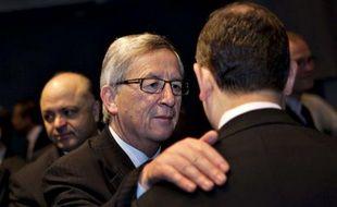 Le président de l'Eurogroupe, Jean-Claude Juncker, à Copenhague ce vendredi 30 mars