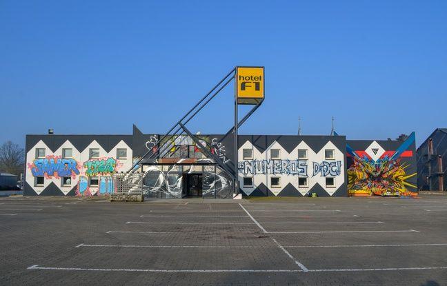 L'hôtel F1 de la Roche sur Yon reconverti en lieu d'expo éphémère