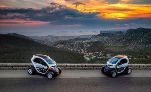 En voiture électrique, les participants vont traverser Marseille, à la pêche aux déchets.