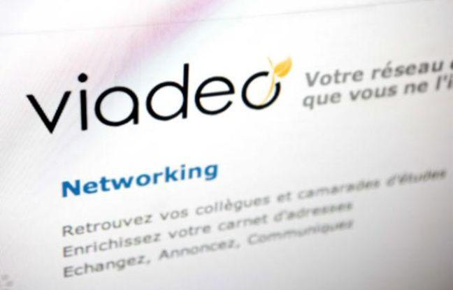 Le site français Viadeo, deuxième réseau social mondial pour l'emploi