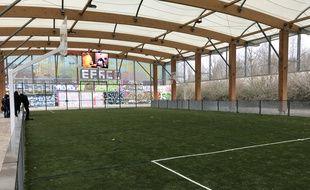 La mini arena construite à Lille-Sud par SMC2.