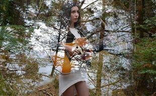 La chanteuse Alma Forrer est l'une des lauréates du concours Mon premier grand studio 2016 en partenariat avec 20 Minutes et RTL