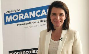 Christelle Morançais, 46 ans, présidente de la région Pays-de-la-Loire.