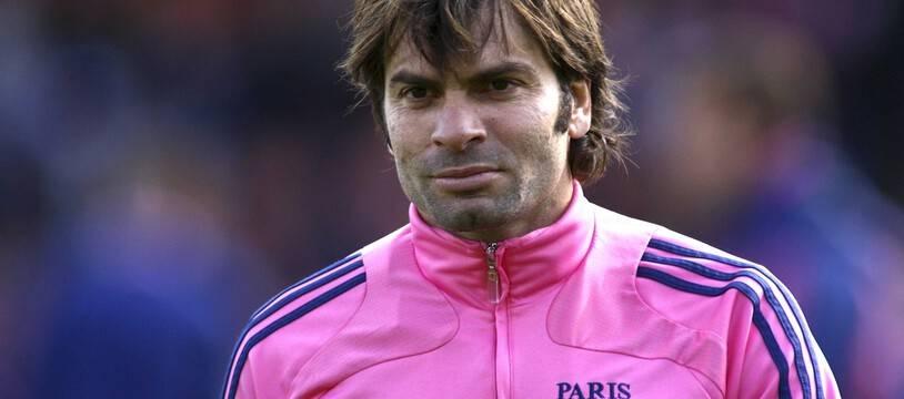 Christophe Dominici portant en 2008 les couleurs du Stade français.
