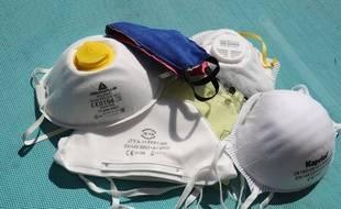 L'entreprise toulousaine aurait acheté des masques de protection contre le coronavirus, avant de les revendre plus de dix fois leur prix. Illustration.