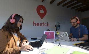 L'application Heetch est une concurrente d'Uber.