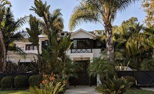 La maison de Johnny Hallyday à Pacific Palisades, en Californie,le 6 décembre 2017.
