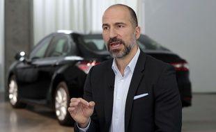 Le directeur général d'Uber, Dara Khosrowshahi, le 5 septembre 2018.