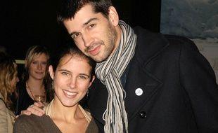 Clémence Castel (Koh Lanta) et son compagnon Mathieu Johann, le 8 novembre 2007.