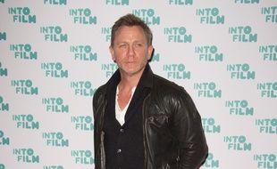 L'acteur Daniel Craig à l'Odeon Cinema Leicester Square de Londres