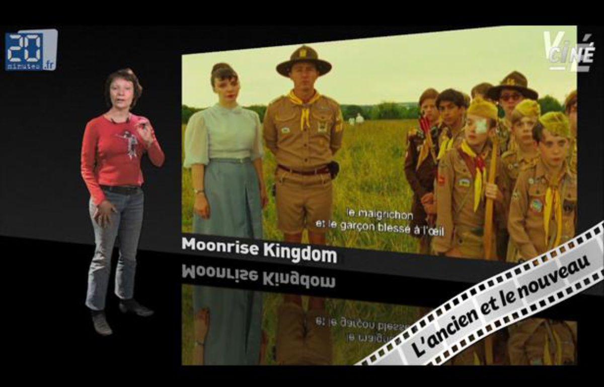 Caroline Vié, critique cinéma de «20 Minutes», décrypte le film «Moonrise Kingdom» dans son émission, Ciné Vié.  – 20 Minutes