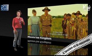 Caroline Vié, critique cinéma de «20 Minutes», décrypte le film «Moonrise Kingdom» dans son émission, Ciné Vié.