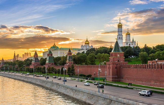 Le Kremlin de Moscou.