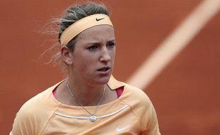 Victoria Azarenka, le 4 juin2012, àRoland-Garros.