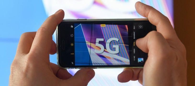 Illustration sur la 5G.