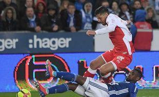 Football: Strasbourg-Reims.