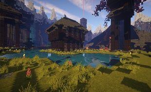 Illustration du jeu Minecraft.