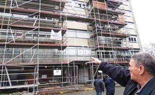 Un riverain mécontent du chantier de rénovation au May Four, à Lille.