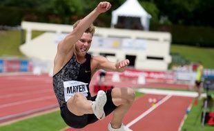 Kevin Mayer se veut rassurant à trois mois des championnats du monde.