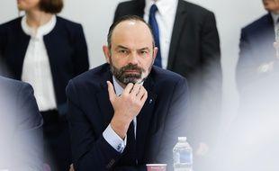 Edouard Philippe à Bordeaux, le 2 mars 2020.