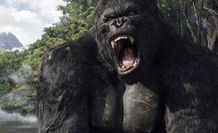 King Kong dans le film de Peter Jackson.