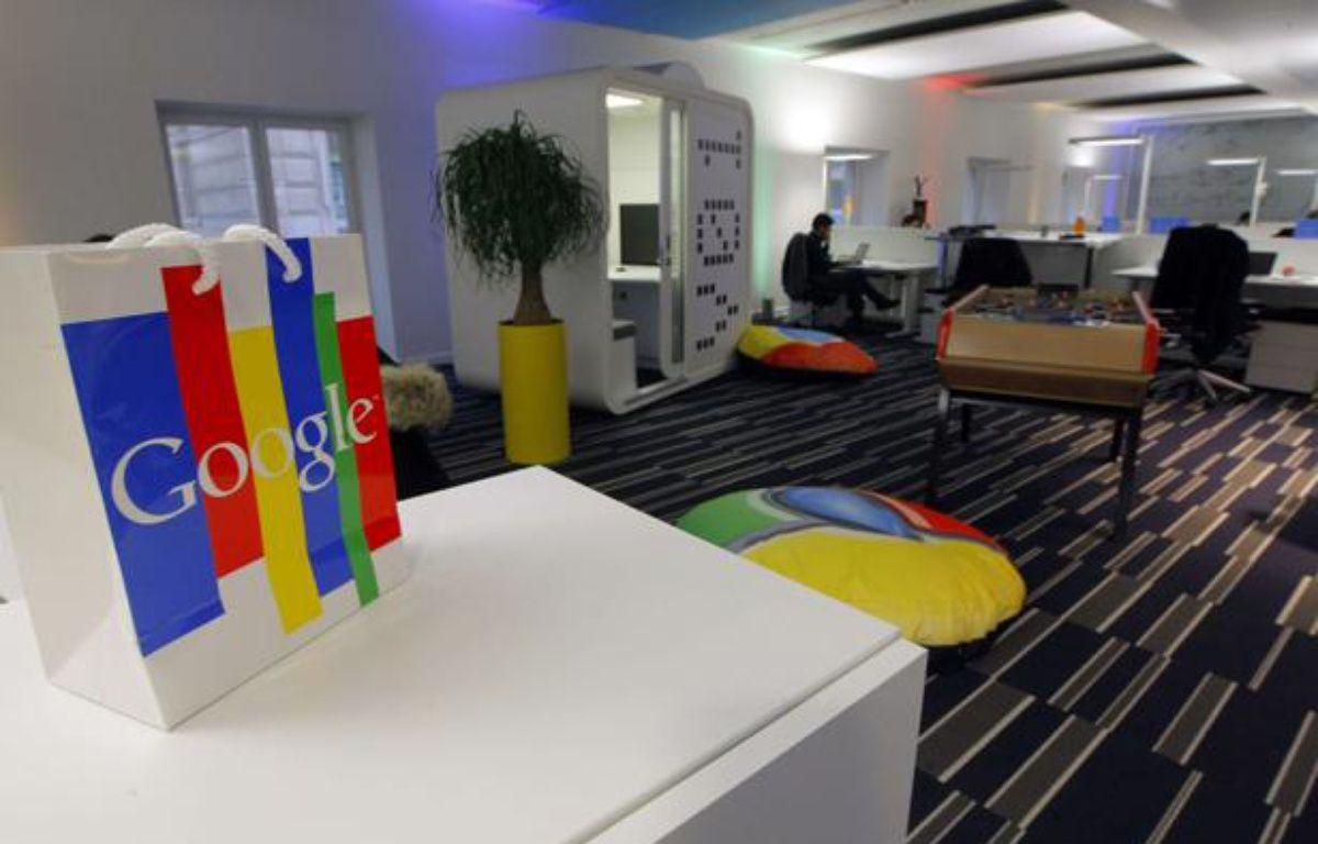 Dans leslocaux de Google France à Paris, le 6 décembre2011. – no credit