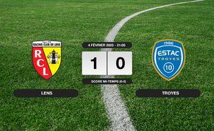 Ligue 2, 23ème journée: Le RC Lens s'impose à domicile 1-0 contre Troyes