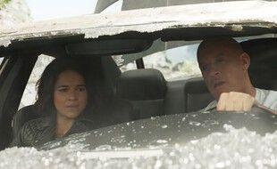 Michelle Rodriguez et Vin Diesel dans «Fast & Furious 9» de Justin Lin