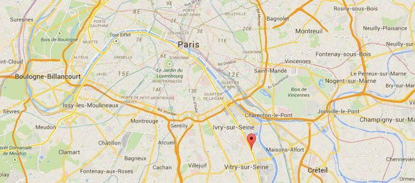Google Maps de Vitry-sur-Seine.