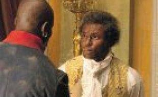 Toussaint Louverture interprété par l'acteur Jimmy Jean-Louis.