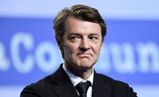 François Baroin au 102 congrès de l'association des maires de France, dont il est le président.