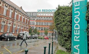 L'un des bâtiments de La Redoute à Roubaix, où se tenait l'AG des salariés.