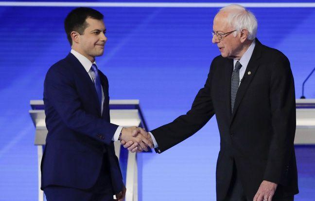 Primaire démocrate: Bernie Sanders et Pete Buttigieg confirment dans le New Hampshire, Joe Biden en perdition