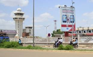 L'aéroport d'Ouagadougou d'où est parti l'avion d'Air Algérie jeudi.