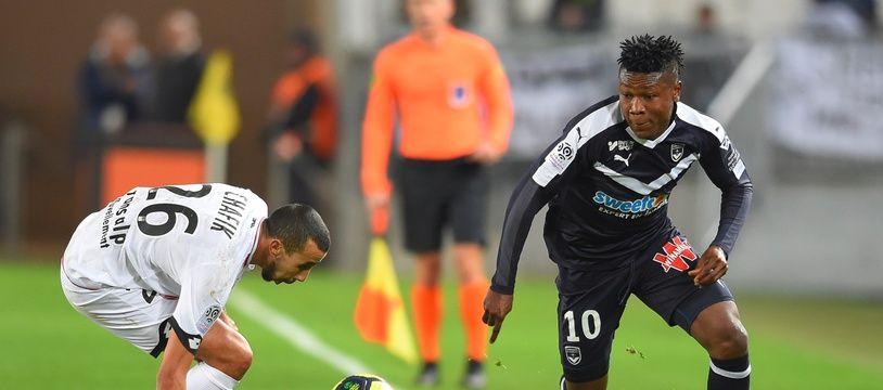 Samuel Kalu est l'homme fort des Girondins de Bordeaux.